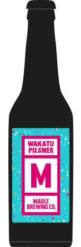 Maule Brewing Wakatu Pilsner Craft Beer