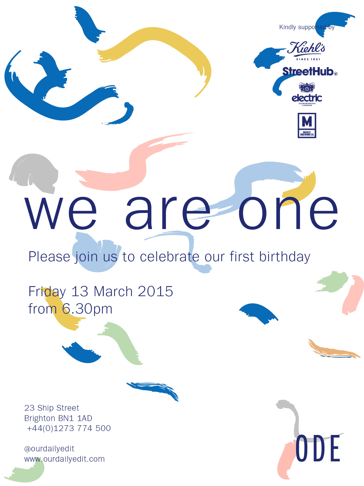 Our Daily Edit 'we are one' party