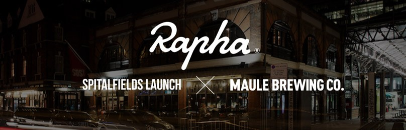Rapha CC Spitalfields launch x Maule Brewing