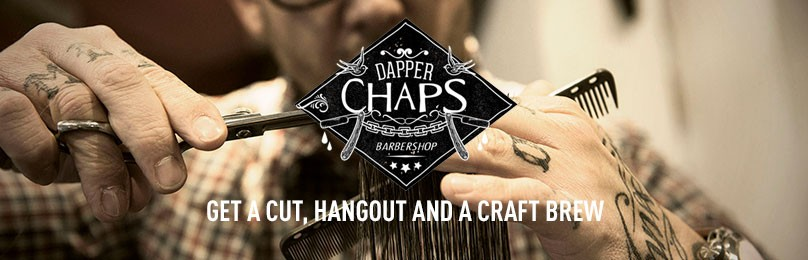 Dapper Chaps, get a cut and a craft brew