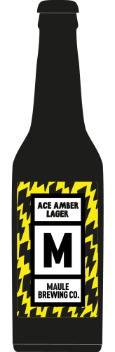 Maule Brewing Ace Amber Lager Craft Beer