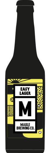 Maule Brewing Easy Lager Craft Beer