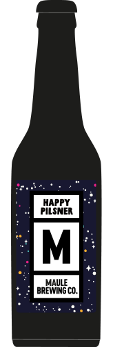 Maule Brewing Happy Pilsner Craft Beer