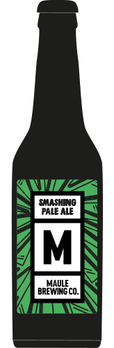 Maule Brewing Smashing Pale Ale Craft Beer