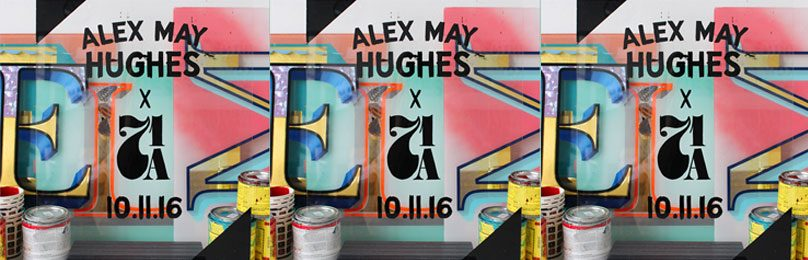 GLASS & GOLD – Alex May Hughes Solo Show