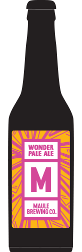 Maule Brewing Wonder Pale Ale Craft Beer