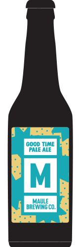 Maule Brewing Good Time Pale Ale Craft Beer