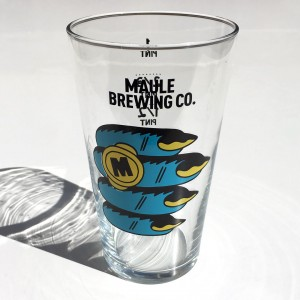 maule claw pint glass 1