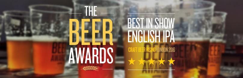 We WIN 'Best in show' – Craft Beer Awards
